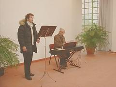 Recital di antiche arie e canti per il Natale, organizzato dalla MuSa (Musica Sapienza).
