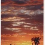 Cielo tempestoso. Fotografia di M. Uberti. Concorso fotografico 2010, sezione paesaggi.
