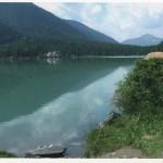 Luci e ombre sul lago. Fotografia di M.L. Ardigò. Concorso fotografico 2010, sezione paesaggi.