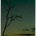 Crepuscolo. Fotografia di M. Uberti. Concorso fotografico 2010, sezione paesaggi.