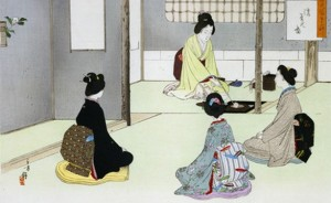 La cerimonia del te