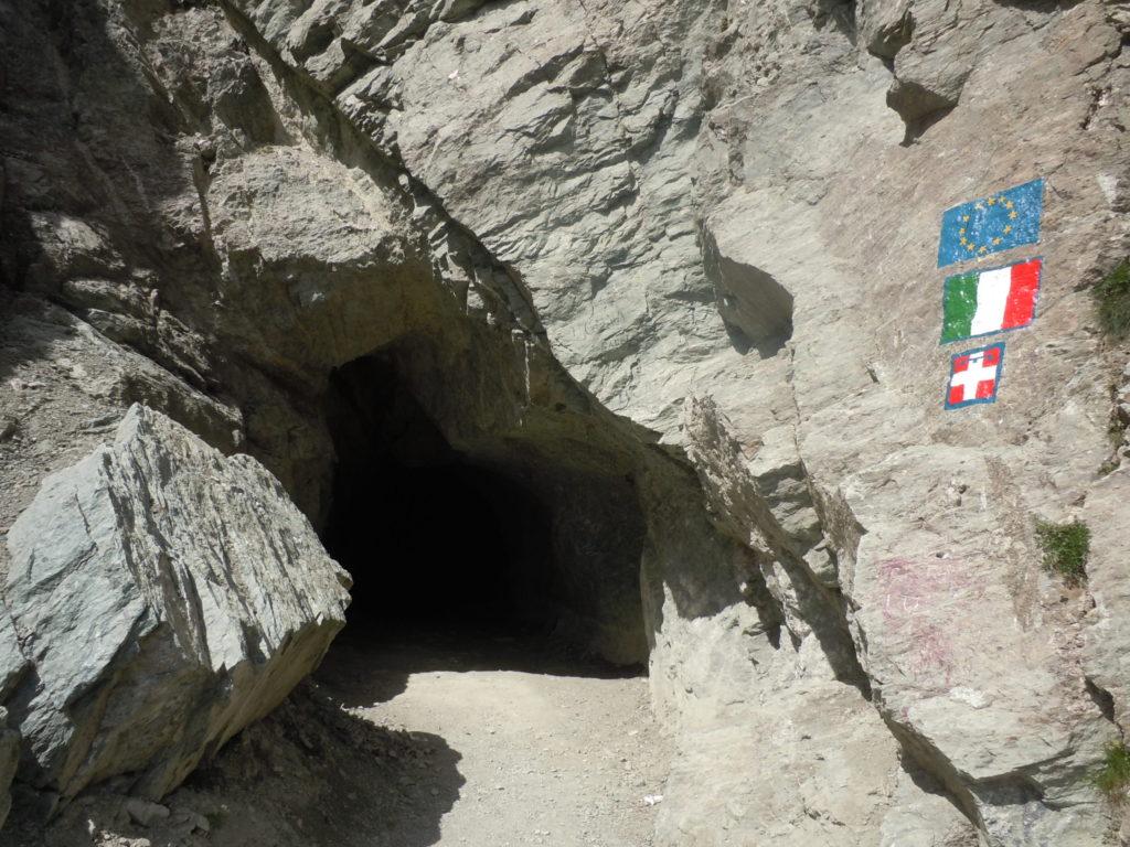 7 Buco di Viso entrata italiana 2880 metri